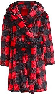 Boys Girls Hooded Bathrobe Sleepwear Gift Selections for Kids