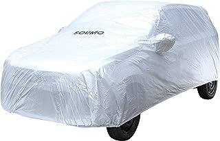 Amazon Brand - Solimo Maruti Alto K10 Water Resistant Car Cover (Silver)