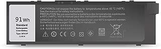 BatteryMon MFKVP Battery for Dell Precision 17 7710 7720 M7710 Precision 15 7510 7520 M7510 Laptop- 91Wh 11.4V