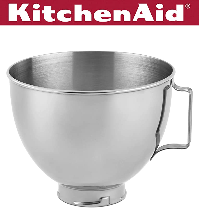 KitchenAid Stainless Steel Bowl K45SBWH 4 5 Quart