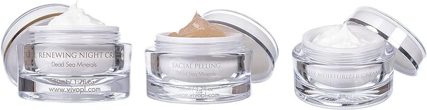 Vivo Per Lei Moisturizer, Renewing Night & Facial Peeling Skin Care Set, 3 Pack