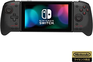 【任天堂ライセンス商品】グリップコントローラー for Nintendo Switch クリアブラック【Nintendo Switch対応】