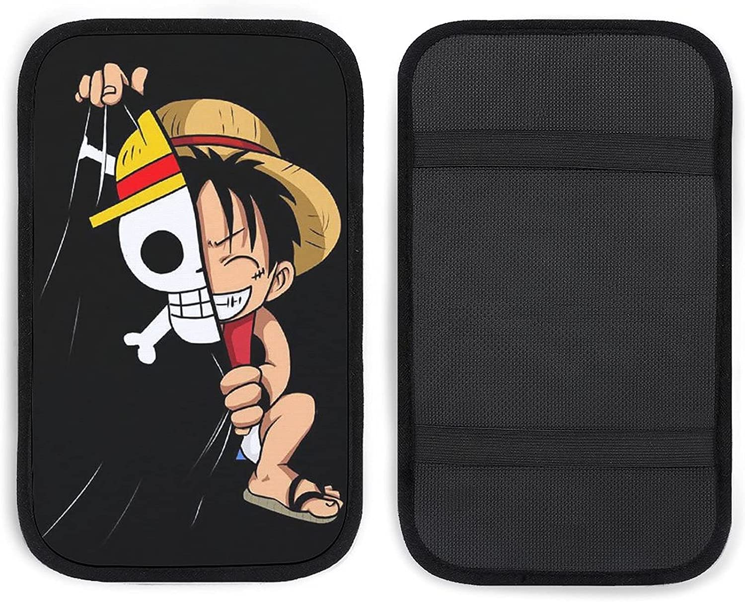 GUIJI Car Armrest Funny Luffy Center Console Auto Pa Sale SALE% OFF All stores are sold Cover