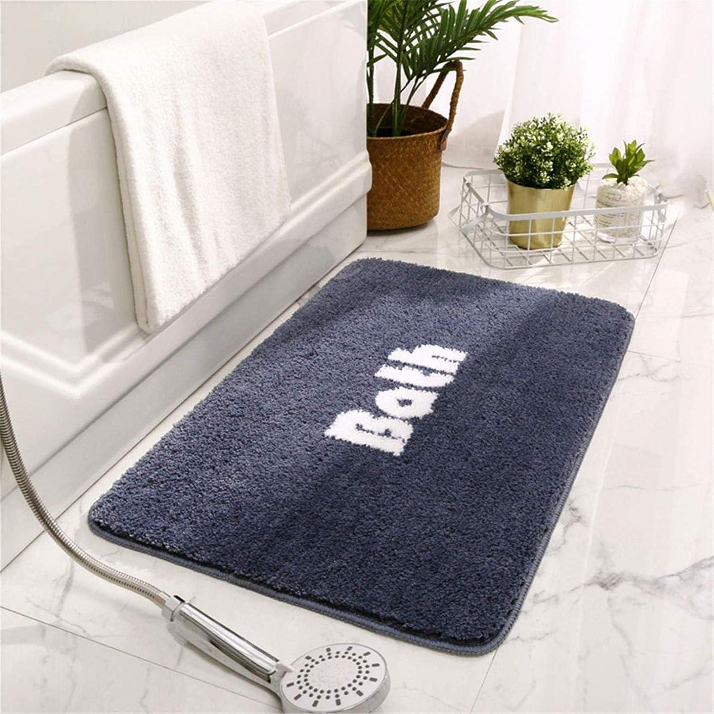 ZQCM Bath Mat Shower Shaggy Floors Long Beach Mall Soft Absorb Extra Water outlet Thick