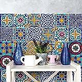 wall art PS00033 Adesivi in PVC per Piastrelle per Bagno e Cucina Stickers Design - Decori portoghesi