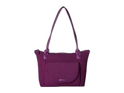 Vera Bradley Carson East/West Tote (Gloxinia Purple) Tote Handbags