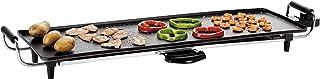 LIVOO DOM182 Plancha Électrique Teppan Yaki | Grande surface de cuisson 70*23 cm | Thermostat réglable | Poignées Isolante...