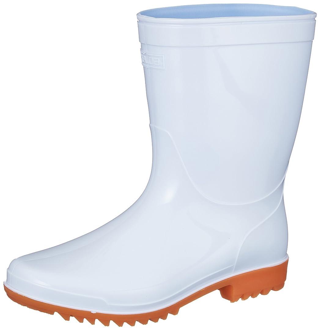 [コーコス信岡] PVC長靴ショート 女性用サイズ対応 先芯なし ZIPLOA(ジプロア)