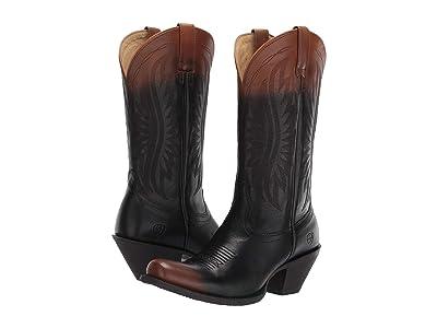 Ariat Circuit Salem (Chocolate Ombre) Cowboy Boots