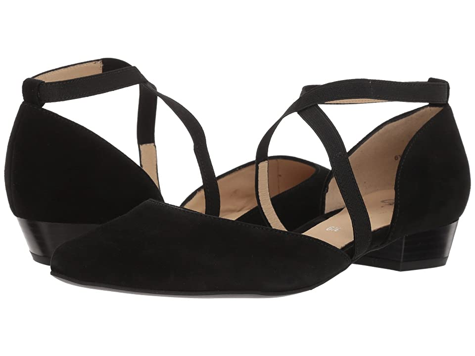 ara Poppy (Black Suede) Women