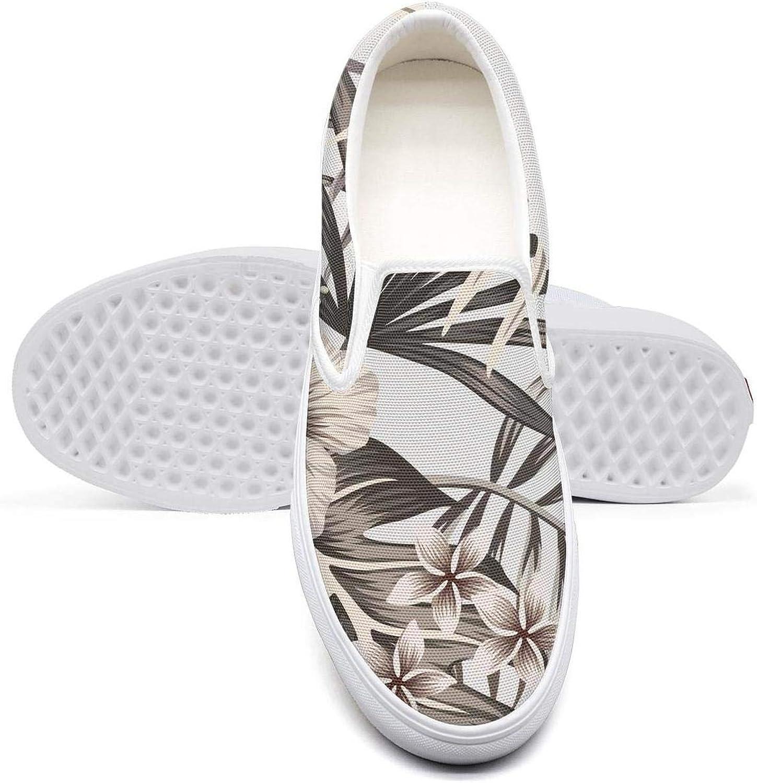 OIPVBDSEXZ Tropical Floral Hawaiian Jungle Art Women Girls Casual Sneakers Retro shoes Breathable Walking shoes