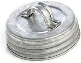 Mason Jar Canister Converter Tops - Galvanized Triple Pack