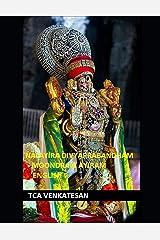 Nalayira Divya Prabandham - Moondram Ayiram: English (Divya Prabandham - English) Paperback