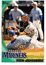 2010 Topps Update Baseball #US-262 Rob Johnson Seattle Mariners Highlights and Traded Trading Card