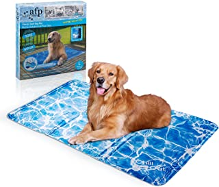 AFP Pet Cooling Mat Dog Cooling Pad Self Cooling Cushion Keeping Pets Cool Summer Sleeping Mat 90 x 60CM (L)