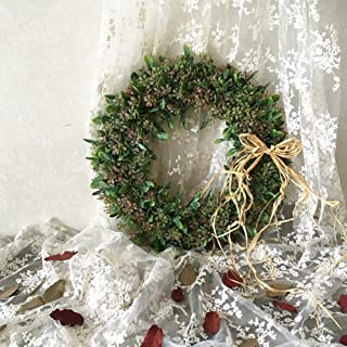 Linker Wish Year-Round Wreath 100cm/lot Artificial Flowers Vine Christmas for Home Wedding Decor Bridal Accessories Fake floristics DIY Wreath Gifts Light Brown