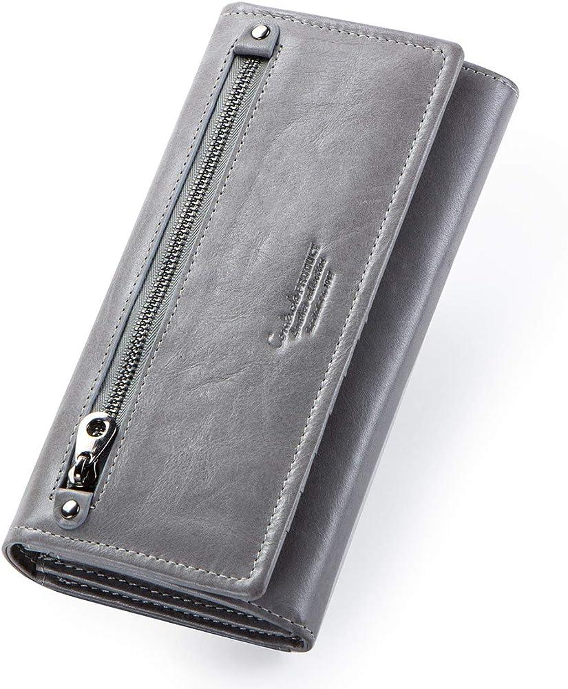 Contacts portafoglio porta carte di credito in pelle per donna 2.2