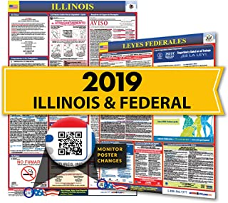 2019 Illinois State & Federal Labor Law Posters for Workplace Compliance