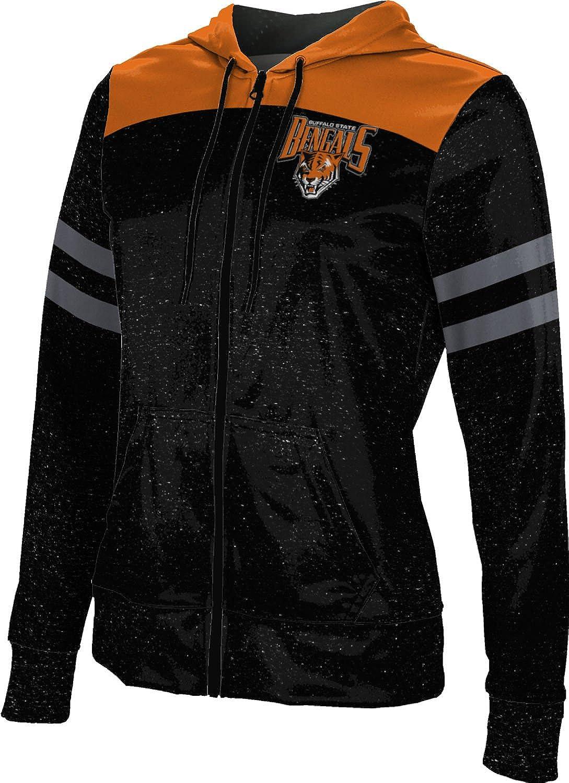 Max 65% OFF Buffalo State College Women's Zipper Spirit Sweat School New color Hoodie