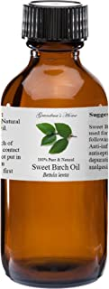 Birch (Sweet) Essential Oil 4 oz 100% Pure and Natural Therapeutic Grade Grandma's Home