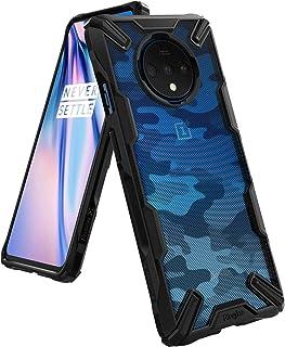 جراب شفاف من رينجكي مقاوم للصدمات لهاتف ون بلس 7 تي (Oneplus 7T)- متعدد الالوان