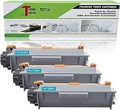 Tonersave TN720 TN750 3 Pack Toner Cartridge for Brother MFC-8710DW DCP-8155DN MFC-8910DW HL-5470DW HL-5470DWT MFC-8510DN DCP-8150DN DCP-8250DN Laser Printer.