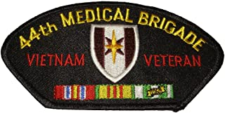 44th MEDICAL BRIGADE VIETNAM VETERAN with CREST and SERVICE RIBBONS PATCH - Great Color - Veteran Owned Business