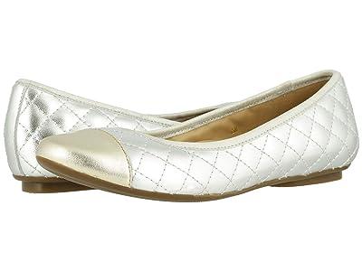 Vaneli Serene (Silver Quilted Mercury Nappa/Platino Mercury Nappa) Women