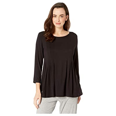Donna Karan Classic Sleep Top (Black) Women