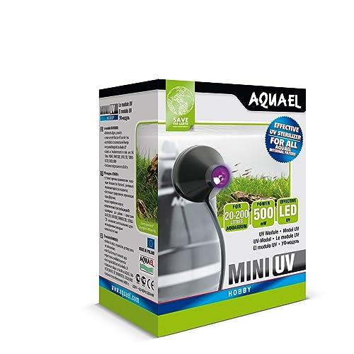 AquaEl Mini Éclairage UV LED pour Aquariophilie 1 W
