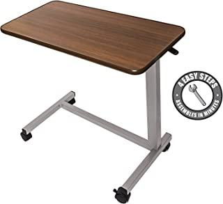 Best medical overbed table Reviews