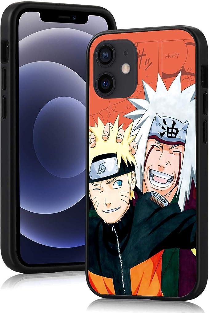 """Japan Anime Cartoon Case Slim Silicone Soft Phone Case Back Cover for iPhone 12 Mini 5.4"""" 2020 - Uzumaki Naruto: Amazon.co.uk: Electronics & Photo"""