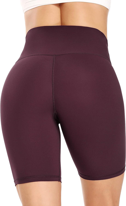 Ronanemon Biker Shorts High Year-end annual account Waist Co for Women Tummy Yoga OFFicial shop