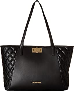 LOVE Moschino Fashion Quilted Shopping Bag