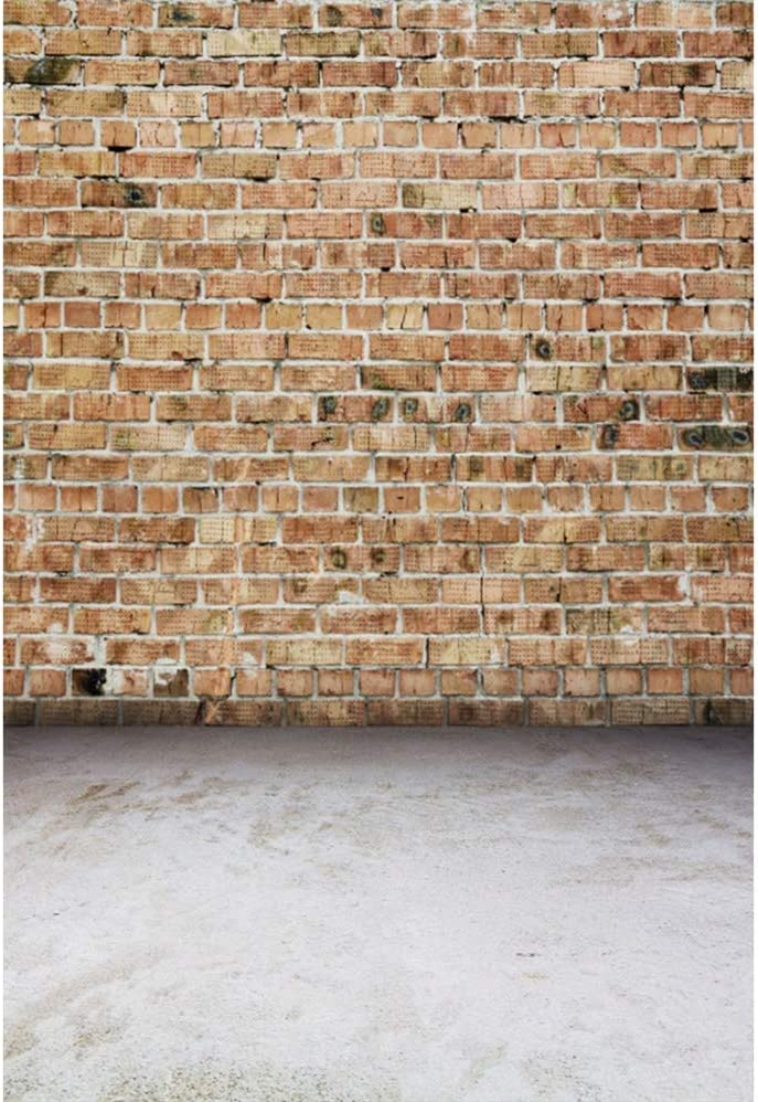 Laeacco Grunge Brick Wall Backdrops Super special price Ph Outstanding Vinyl Countryside 6.5x8ft