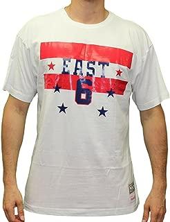 Julius Erving 1980 All-Star East NBA Men's White T-Shirt