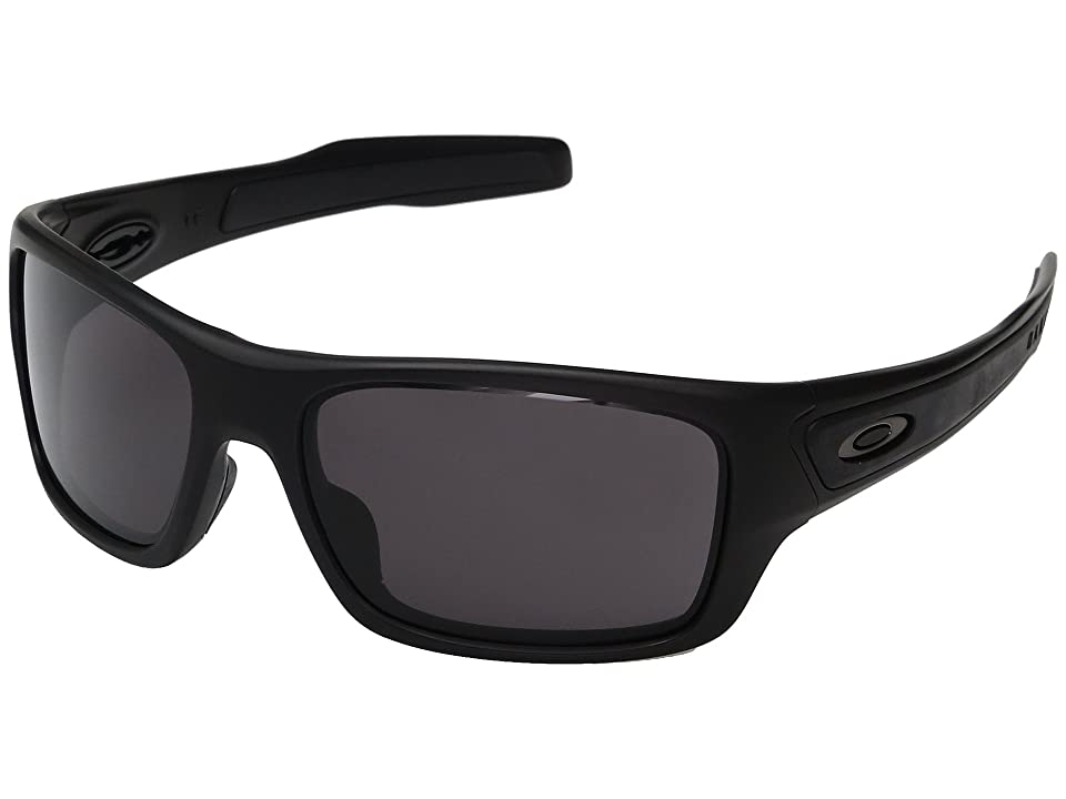 Oakley Turbine XS (Matte Black w/ Warm Grey) Fashion Sunglasses