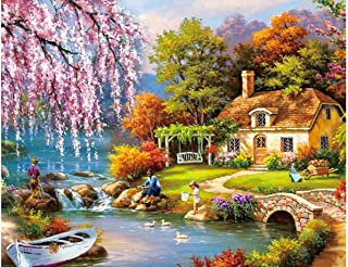 1000 Piece Puzzles Jigsaw Puzzle for Adults or Kids - Landscape Puzzles Toy 11.9 in x 16.7 in