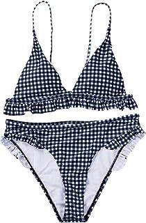 c0dbfdf83b60 Amazon.es: cuadros blanco y negro - Conjuntos / Bikinis: Ropa