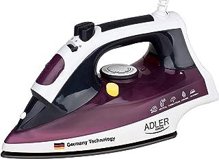 Germany technology steam Iron max power 2600W Adler Europe 1 year warranty
