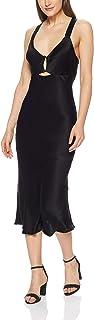 THIRD FORM Women's Intrigue Bias Slip Dress, Black