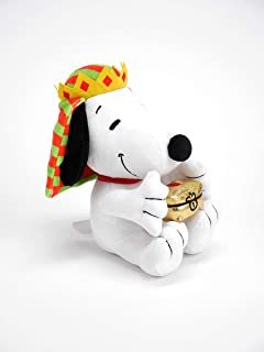 Hallmark Plush Wise Man Snoopy Stuffed Animal (Gold), Three Kings