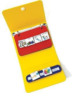Mini PECS Communication Book (Picture Exchange Communication System)