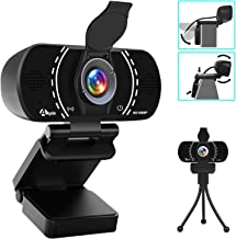 Akyta Webcam with Microphone, HD Webcam 1080P Stream Web Camera for Computers MAC Laptop PC Video Conference/Calling/Recor...