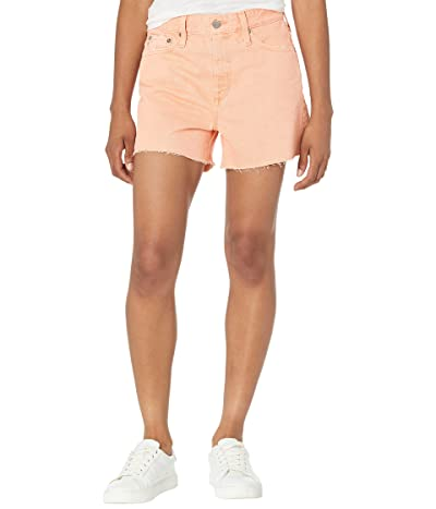 AG Adriano Goldschmied Alexxis Vintage High-Rise Shorts in Element Euphoric Coral