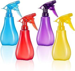 Empty Plastic Spray Bottles(4pack) - 8 Oz Spray Bottle, Squirt Bottle, Purpose Use Durable BPA Free,Bottles for Cleaning S...