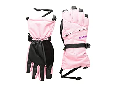 Burton Kids Vent Gloves (Little Kids/Big Kids) (Sea Pink) Snowboard Gloves