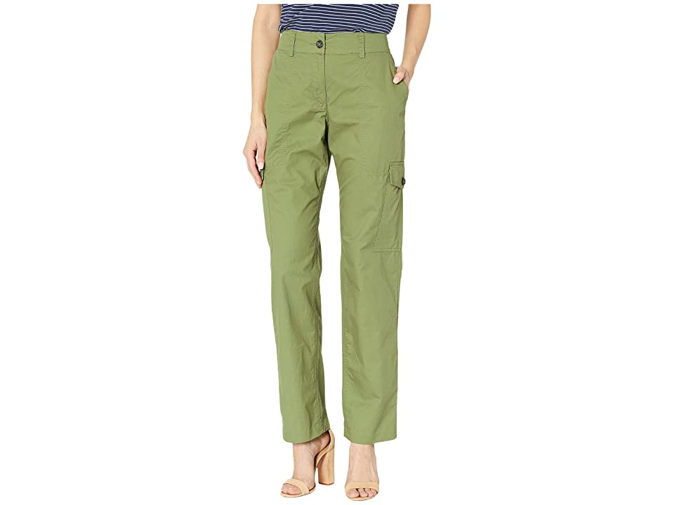 MICHAEL Michael Kors Cargo Big Pocket Pants (Smokey Olive) Women