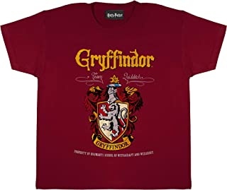 Harry Potter Gryffindor Crest Girls T-Shirt   Official Merchandise   Ages 3-13, Harry Potter Gifts, Girls Fashion Top, Chi...