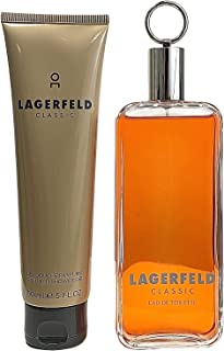 Lagerfeld, 2count, 5/edt spray 5 ounce & shower gel 5 ounce, AF-3386460102865
